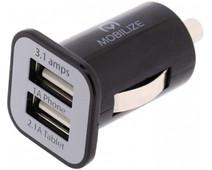 Mobilize Autolader Dual USB 3,1A