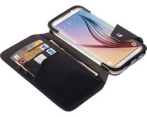 Krusell Kalmar Book Case Samsung Galaxy S6 edge Zwart