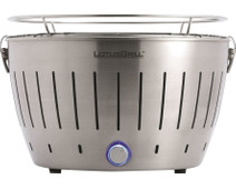 LotusGrill Tabletop Barbecue Stainless Steel