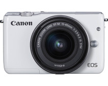 Canon EOS M10 White + 15-45mm