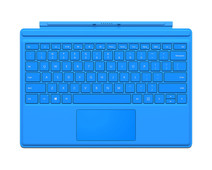 Microsoft Surface Pro 4 Type Cover Qwerty Helder Blauw
