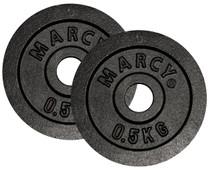 Marcy Plates 2x 0,5 kg Black