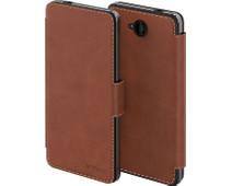 Mozo Book Case Microsoft Lumia 650 Bruin
