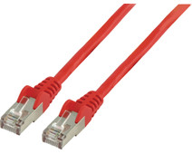 Valueline Network cable UTP CAT5e 10 meter Red