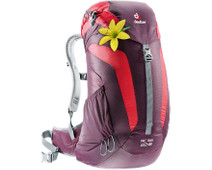 Deuter AC Lite Aubergine/Fire 22L - Slim fit