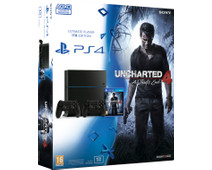 Sony PlayStation 4 1 TB + Uncharted 4 + 2de Controller