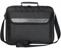 "Trust Atlanta Laptop Bag 17.3"" Black"