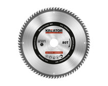 Kreator Saw Blade for Wood 250x30x3mm 80T