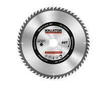 Kreator Saw Blade for Wood 254x30x3mm 60T