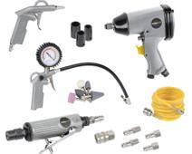 Powerplus Air tool set (25-piece)