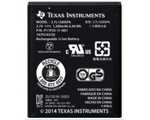 Texas Instruments rechargeable battery