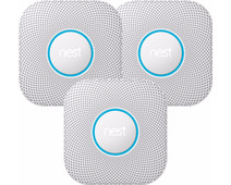 Google Nest Protect V2 Netstroom (3 Stuks)