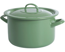 BK New Vintage Cooking Pot Enamel 20cm