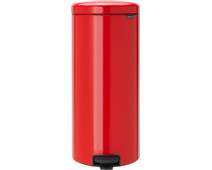 Brabantia NewIcon Pedal Trash Can 30 Liters Red