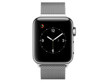 Apple Watch Series 2 38mm Stainless Steel/Milanese Watch Strap