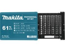 Makita 61-piece bit set P-70144