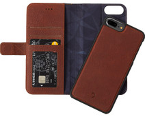 Decoded Leather 2-in-1 Wallet Case Apple iPhone 6 Plus/6s Plus/7 Plus/8 Plus Brown