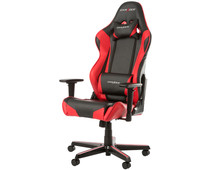 DXRacer RACING Gaming Chair Zwart/Rood