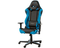 DXRacer RACING Gaming Chair Zwart/Blauw