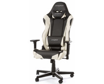 DXRacer RACING Gaming Chair Zwart/Wit