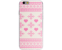 FLAVR Case Ugly Xmas Sweater Apple iPhone 6/6s Roze