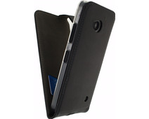 Mobilize Classic Gelly Flip Case Microsoft Lumia 640 Zwart