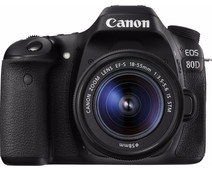 Canon EOS 80D + 18-55mm IS STM