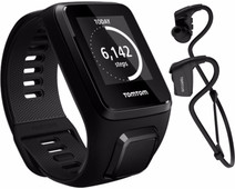 TomTom Spark 3 Music + Headphones Black - L