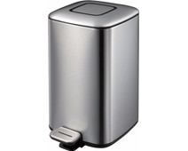 EKO Regent Step Bin 12L Stainless Steel