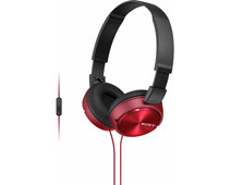 Sony MDR-ZX310AP Rood