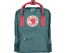 Fjällräven Kånken Mini Frost Green-Peach Pink 7L- Children's Backpack