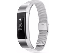Just in Case Fitbit Alta Milanees Watchband Silver