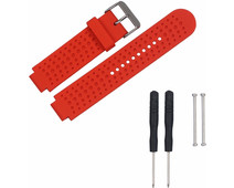 Just in Case Silicone Sportband Garmin Forerunner Red