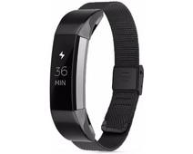 Just in Case Fitbit Alta Milanees Watchband Black