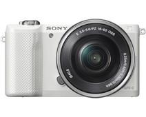 Sony Alpha A5000 Wit + 16-50mm