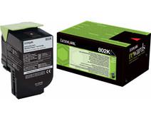 Lexmark 802K Zwart (80C20K0)