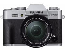 Fujifilm X-T20 Zilver +  16-50mm OIS II