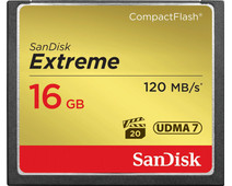 Sandisk CF Extreme 16GB 120mb/s