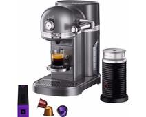 KitchenAid Nespresso and Aeroccino 5KES0504 Tin Gray