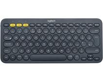 Logitech K380 Draadloos Toetsenbord QWERTY Grijs