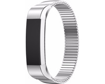Just in Case Milanees Chain RVS Polsband Fitbit Alta Zilver