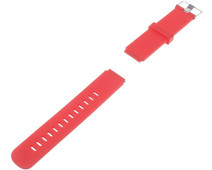 Just in Case Siliconen Polsband Universeel 18mm Roze