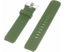 Just in Case Siliconen Polsband Universeel 18mm Groen