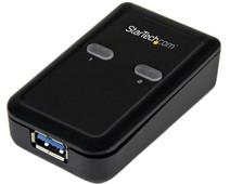 Startech 2 poorts 2-naar-1 USB 3.0 Switch