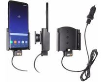 Brodit Holder Samsung Galaxy S8 Plus with charger