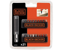 Black & Decker 21-bit bit set A7074-XJ
