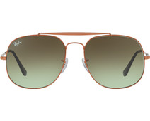 Ray-Ban The General RB3561 Bronze / Green Gradient Brown