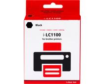 Pixeljet LC-1100BK Zwart voor Brother printers (LC-1100BK)