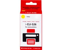 Huismerk CLI-526Y Geel voor Canon printers (4543B001)