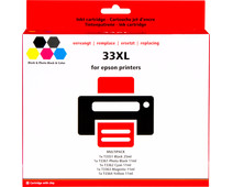 Pixeljet 33 XL 5-Color Pack for Epson printers (C13T33574010)